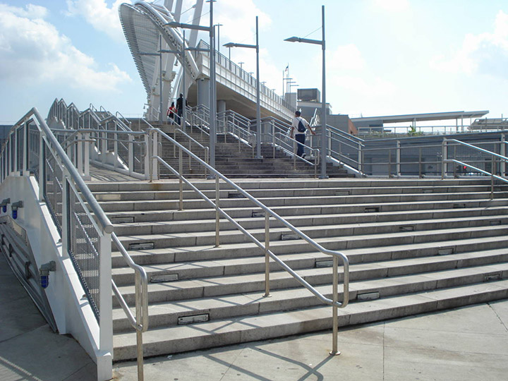 Transcontinental Steel Was Contracted To Erected Several Pieces Of The St  George Ferry Terminal In Staten Islan, NY. The $130 Million Renovation  Completed ...